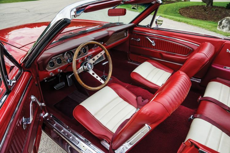 1966 Ford Mustang A-Code 289 225HP Convertible 76A muscle classic wallpaper