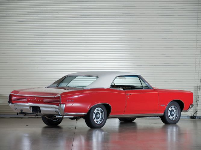 1966 Pontiac Tempest GTO Cordova Top Hardtop Coupe muscle classic wallpaper
