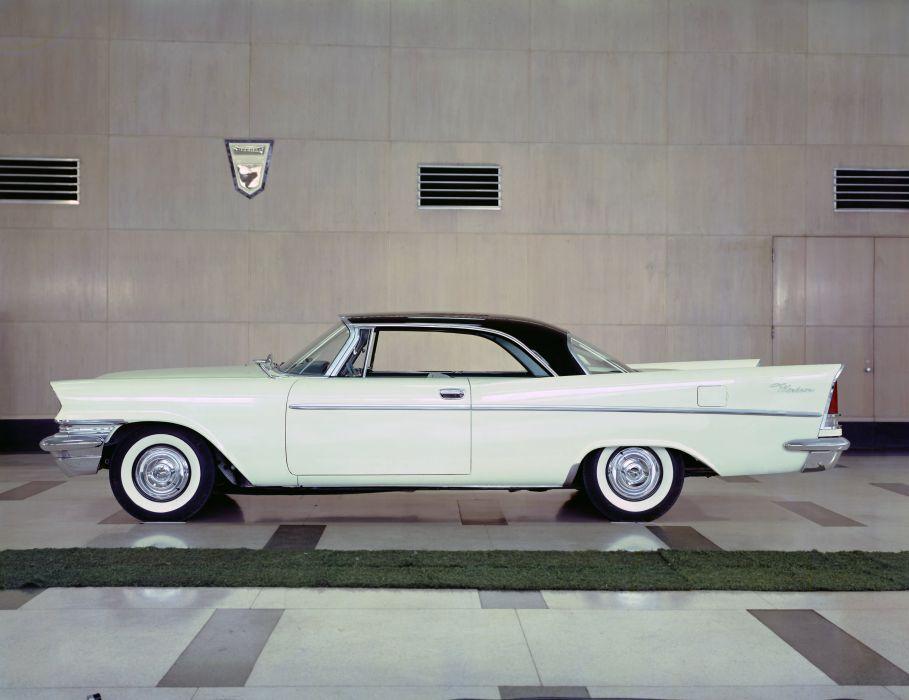 1957 Chrysler Windsor Hardtop Coupe retro luxury wallpaper