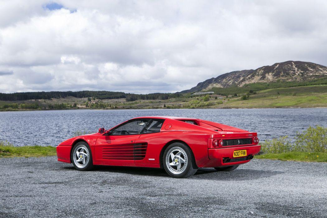 1996 Ferrari F512 M supercar wallpaper