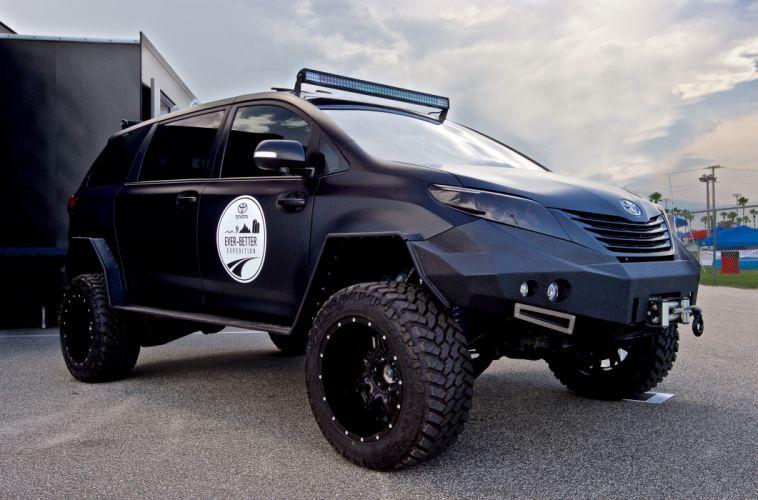 2015 Toyota Ultimate Utility conxept awd 4x4 suv truck uuv wallpaper