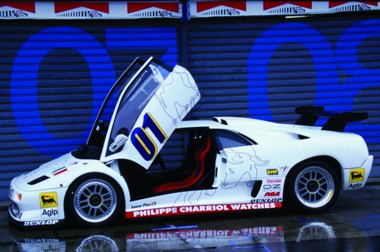 1996 Lamborghini Diablo SVR supercar wallpaper