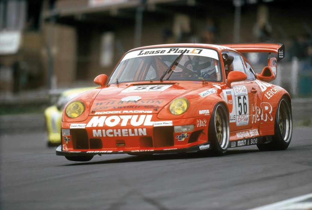 1995-98 Porsche 911 GT2 Evo 993 race racing supercar wallpaper