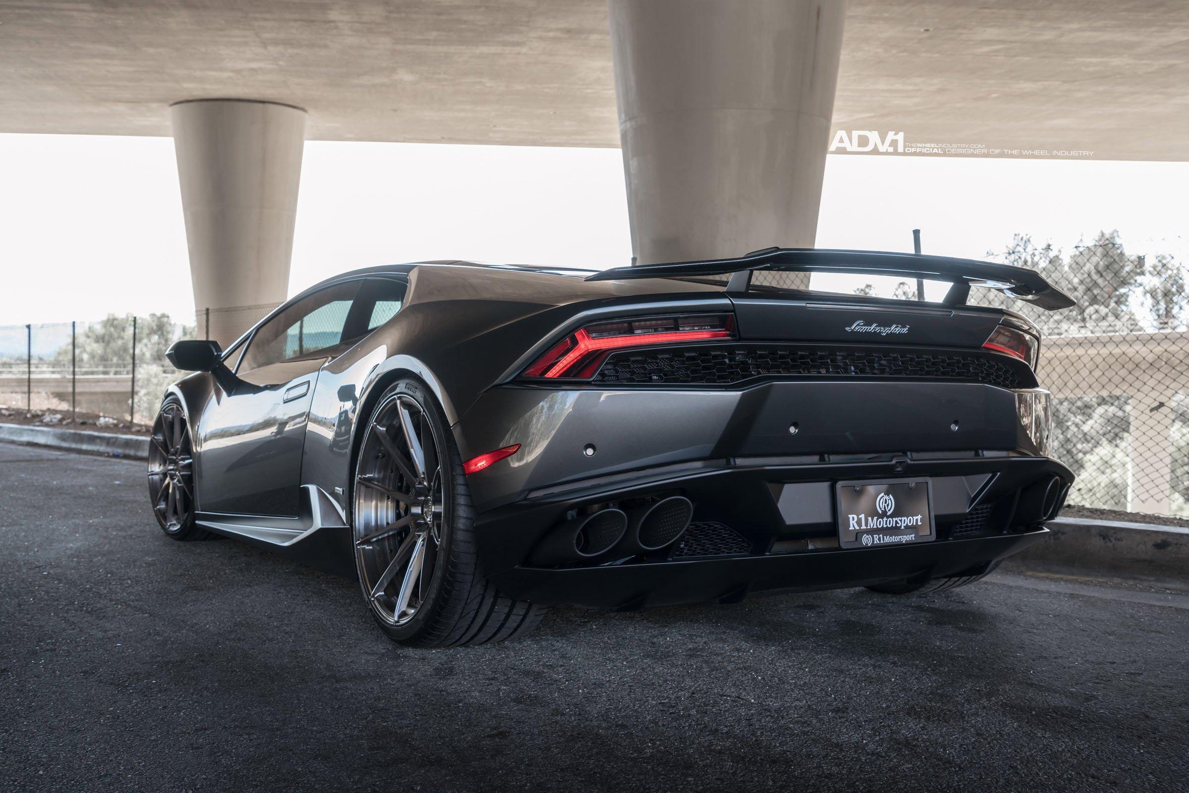 adv1 wheels lamborghini huracan cars grey dark modified wallpaper 2400x1601 835347 wallpaperup - Lamborghini Huracan Grey