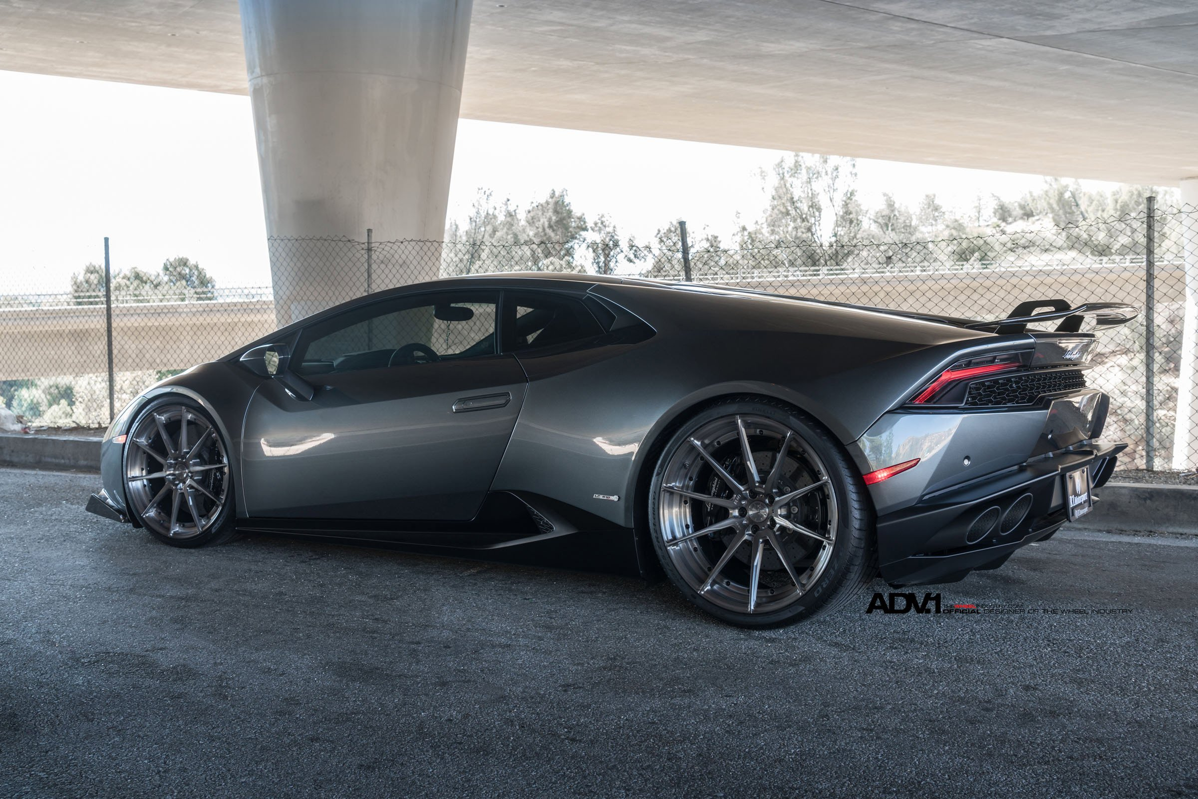 adv1 wheels lamborghini huracan cars grey dark modified wallpaper 2400x1601 835348 wallpaperup - Lamborghini Huracan Grey
