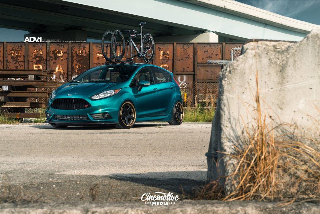 Adv1 Wheels Ford Fiesta St Modified Wallpaper 1500x1003 835352 Wallpaperup