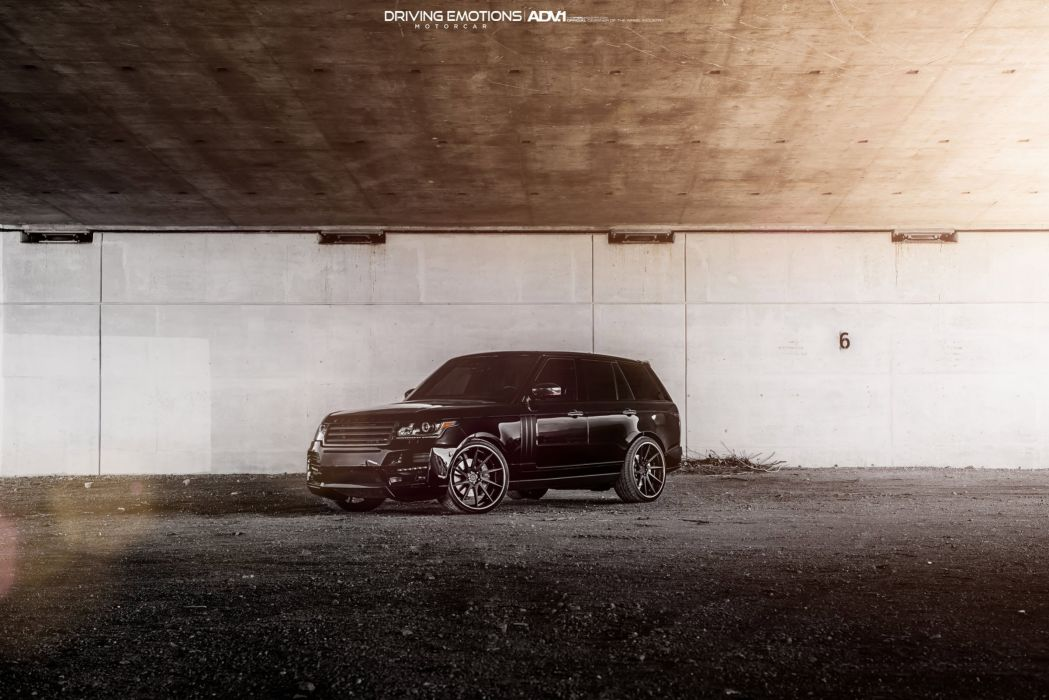 ADV1 WHEELS RANGE ROVER SPORT suv black modified wallpaper