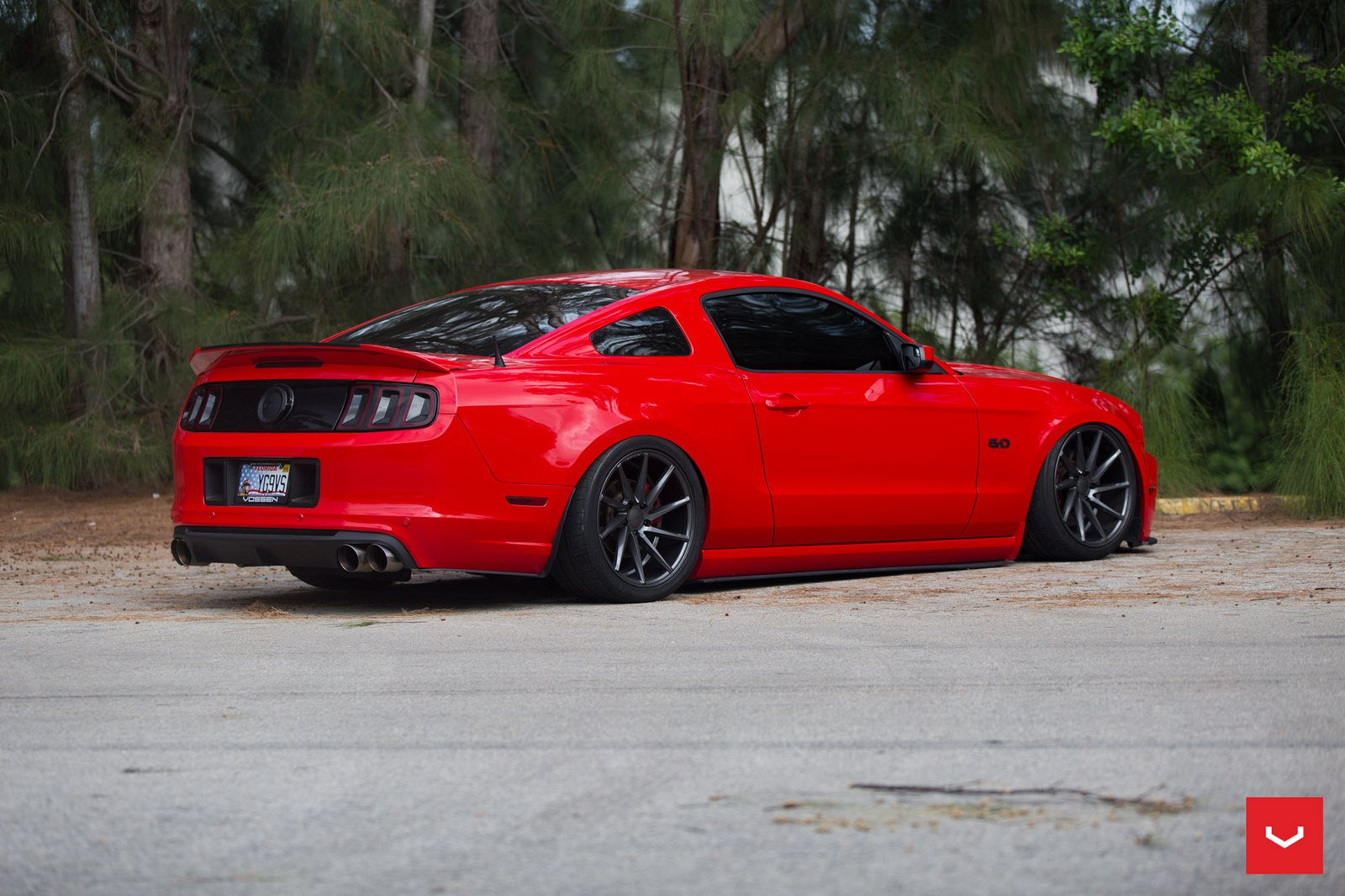 ford mustang vossen wheels - photo #12