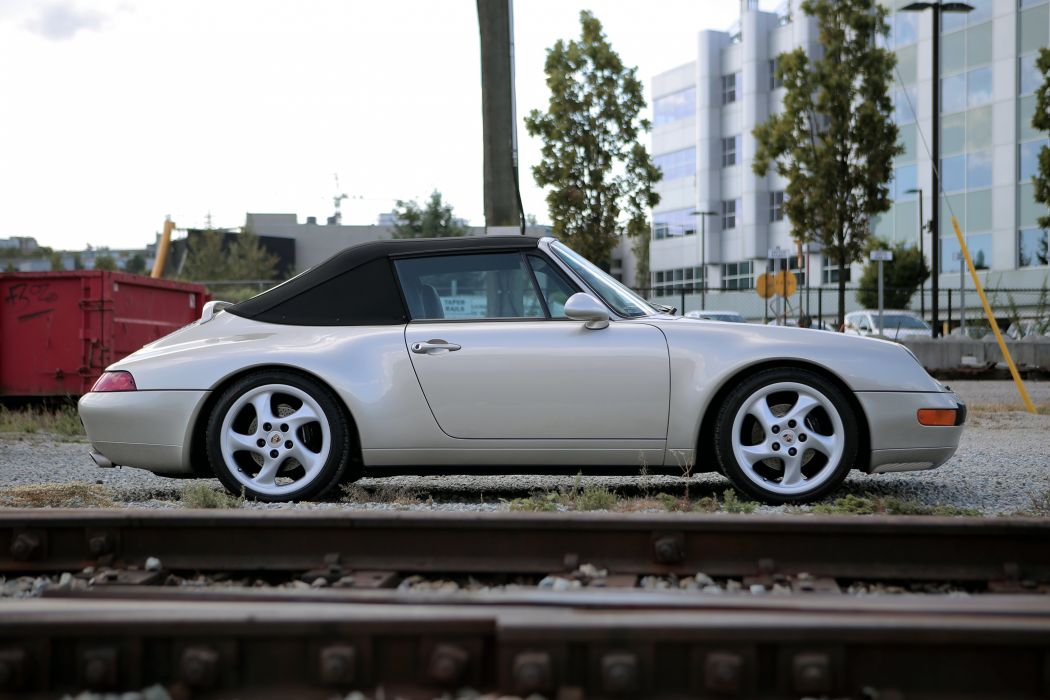 1996 Porsche 911 Carrera 3-6 Cabriolet US-spec wallpaper