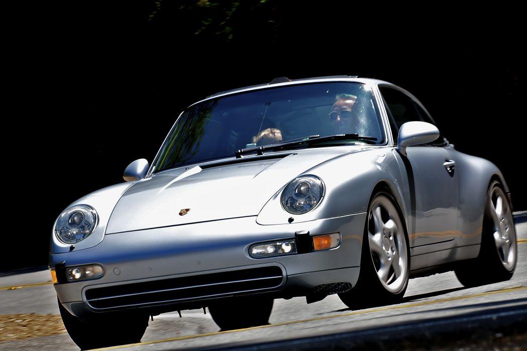1996 Porsche 911 Carrera S 3-6 Coupe US-spec 993 wallpaper
