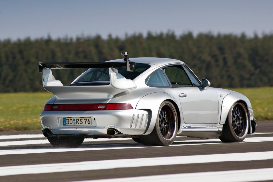 2002 Porsche 993 GT2 Turbo 3-6 Widebody MC600 McChip tuning supercar wallpaper