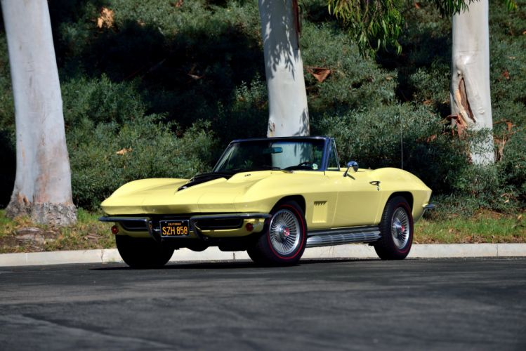1967 Chevrolet Corvette Sting Ray L68 427 400HP Convertible muscle supercar classic stingray wallpaper