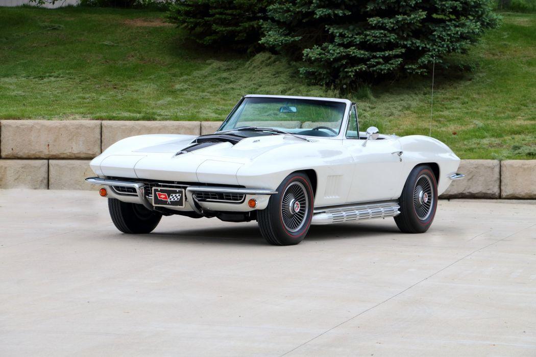 1967 Chevrolet Corvette Sting Ray L68 427 400HP Convertible muscle supercar classic stingray wallpaper
