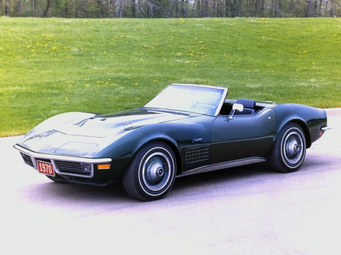 1970 Chevrolet Corvette Stingray LS5 454 390HP Convertible supercar muscle classic sting ray wallpaper