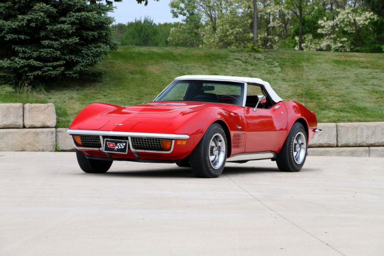 1972 Chevrolet Corvette Stingray LT1 350 255HP Convertible supercar classic muscle sting ray wallpaper