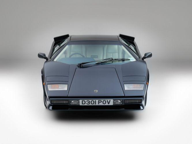 1985-87 Lamborghini Countach LP5000 S Quattrovalvole UK-spec Bertone wallpaper