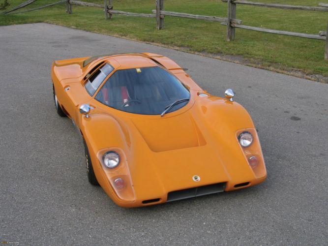 Mclaren M-6 Lemans race racing rally grad prix le-mans supercar wallpaper