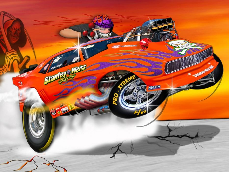DRAG RACING race hot rod rods chevrolet camaro g wallpaper
