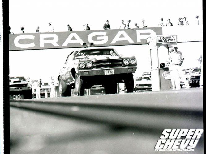 DRAG RACING race hot rod rods chevrolet chevelle f wallpaper