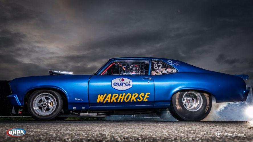 DRAG RACING race hot rod rods chevrolet nova d wallpaper