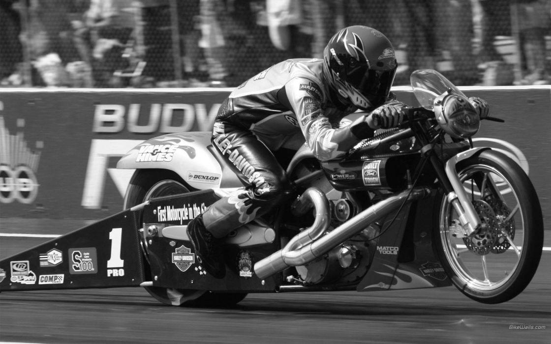 NHRA drag racing race hot rod rods prostock bike motorbike motorcycle wallpaper