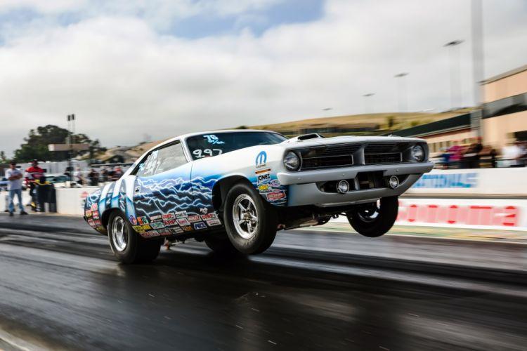 NHRA drag racing race hot rod rods plymouth wheelie d wallpaper