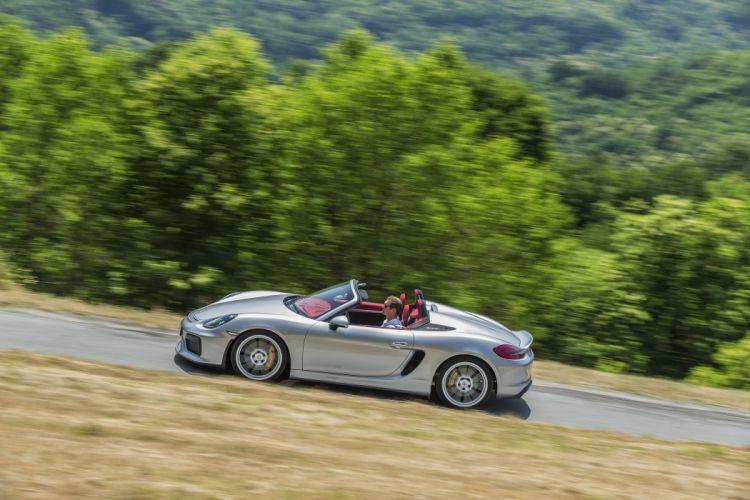 Porsche Boxster Spyder (981) cars 2015 wallpaper