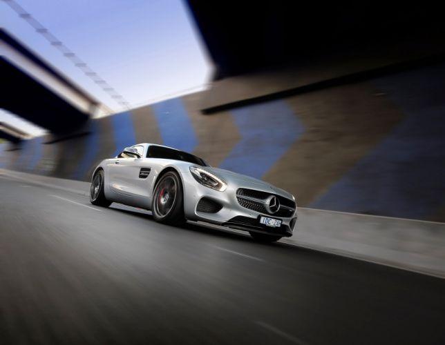 Mercedes AMG GTS AU-spec (C190) cars coupe 2015 wallpaper