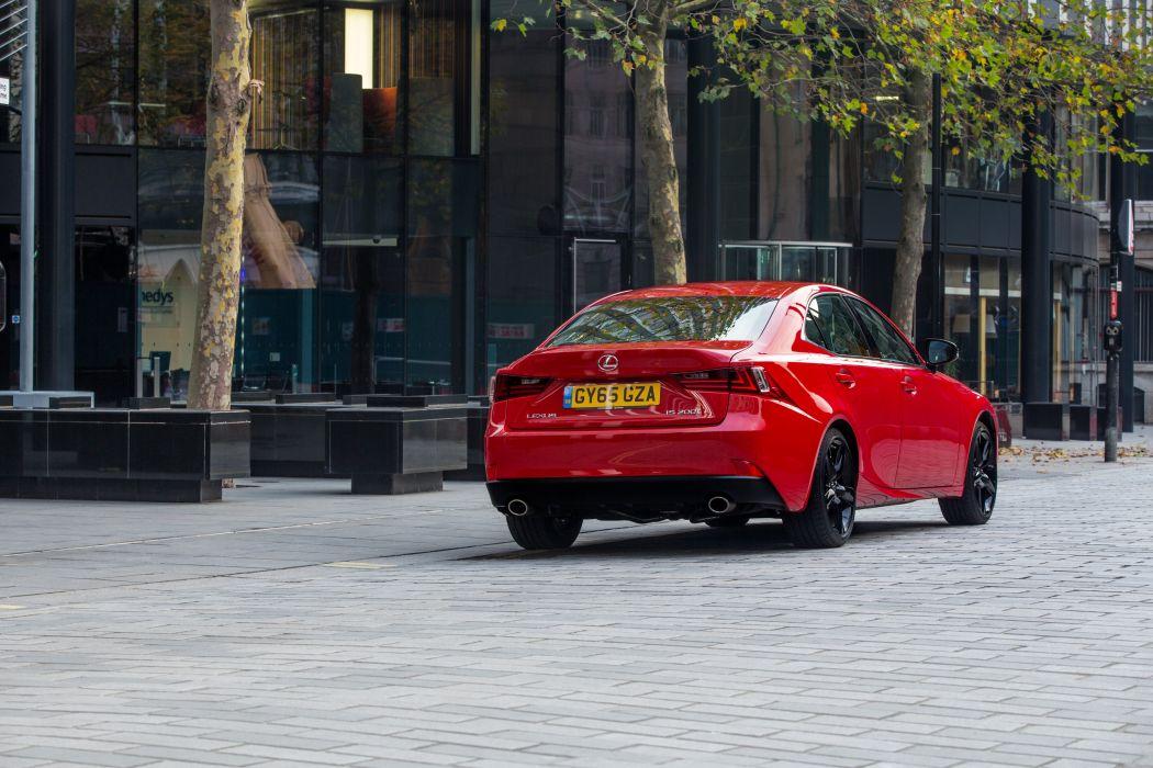 Lexus-IS 200t UK-spec (XE30) cars sedan 2015 wallpaper
