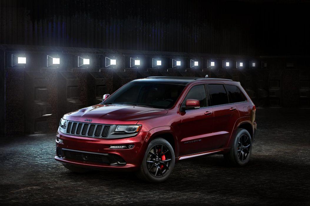 jeep Grand Cherokee SRT Night 2016 cars 4x4 wallpaper