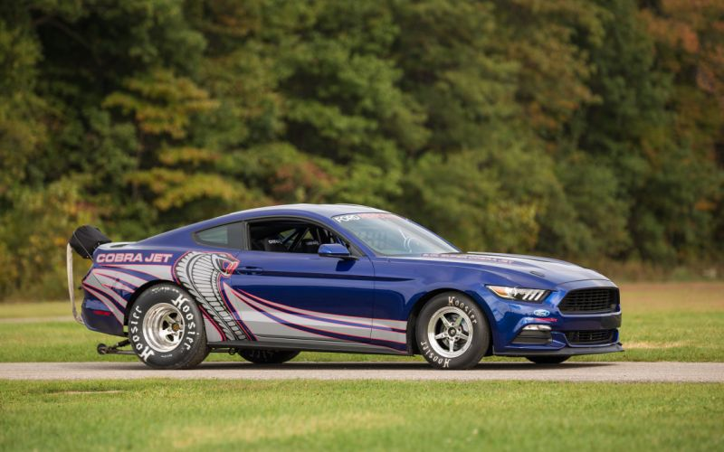 2016 Ford Mustang Cobra Jet drag racing race muscle hot rod rods wallpaper