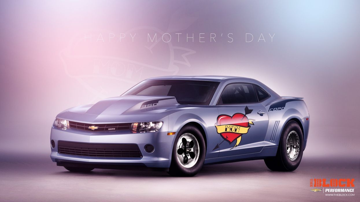 Chevrolet Camaro COPO drag race racing hot rod rods muscle mothers day wallpaper