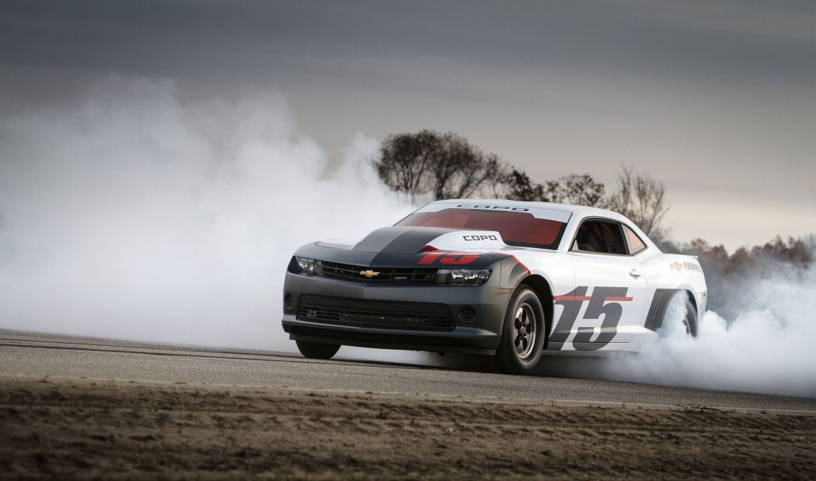 Chevrolet Camaro COPO drag race racing hot rod rods muscle wallpaper
