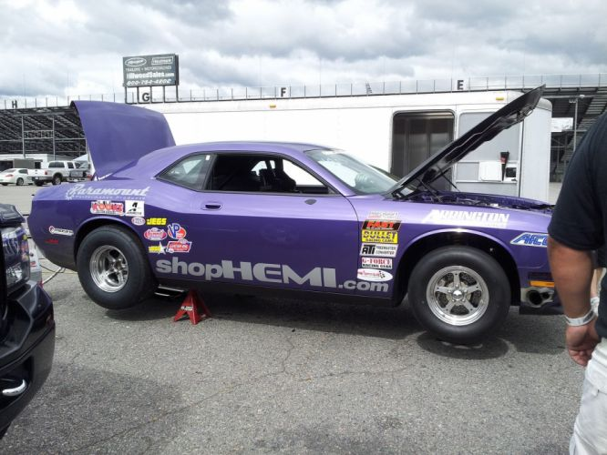 Dodge Challenger Drag Pak mopar race racing muscle hot rod rods hemi wallpaper