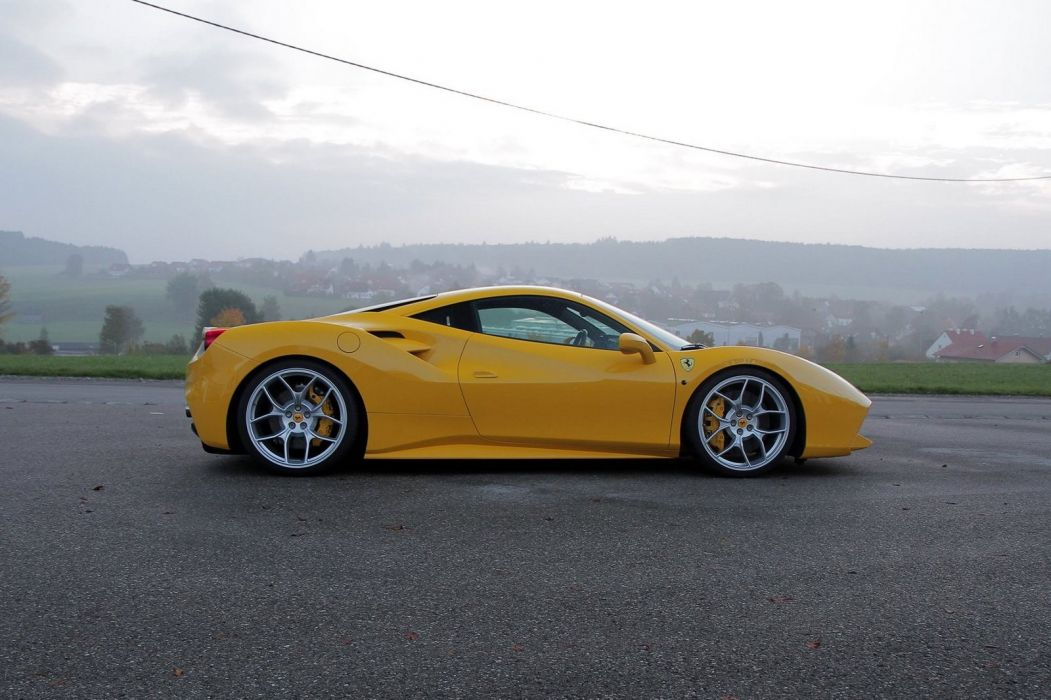 Ferrari 488 GTB Novitec Rosso cars modified wallpaper