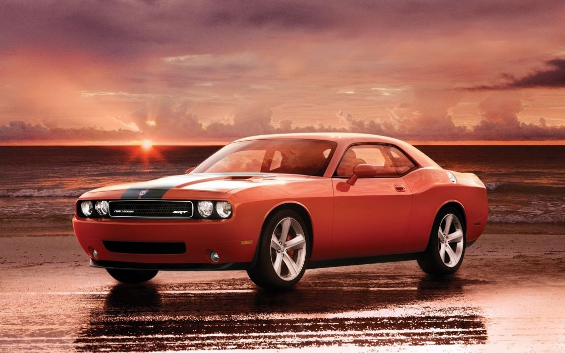 Dodge Challenger SRT mopar muscle hemi wallpaper