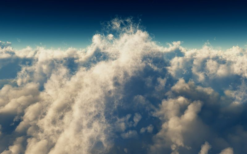 nubes tormenta cielo wallpaper