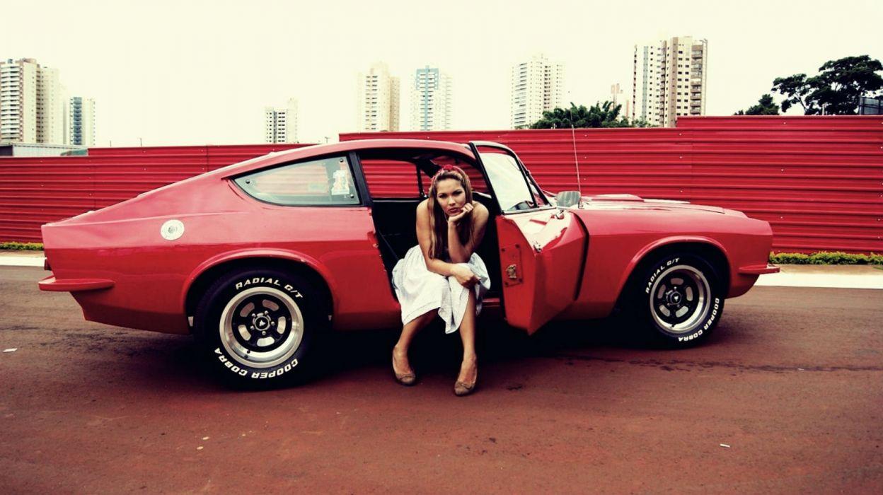 Puma GTB hot rod rods muscle classic supercar wallpaper