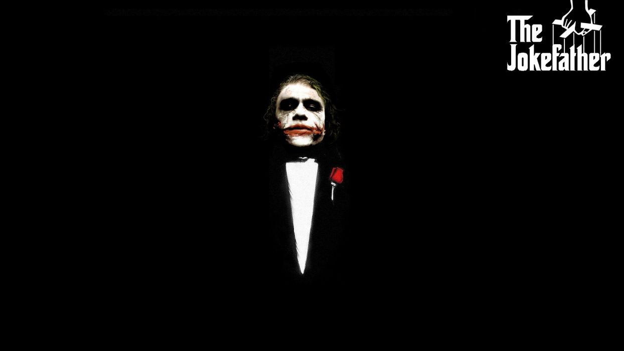 Batman Joker Godfather The Dark Knight wallpaper