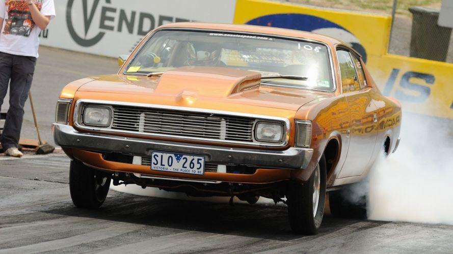 Chrysler Valiant classic mopar muscle hot rod rods drag racing race wallpaper