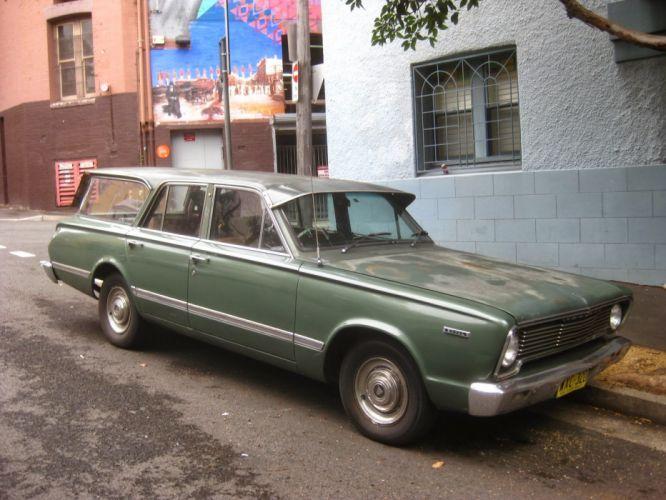 Chrysler Valiant classic mopar stationwagon wallpaper