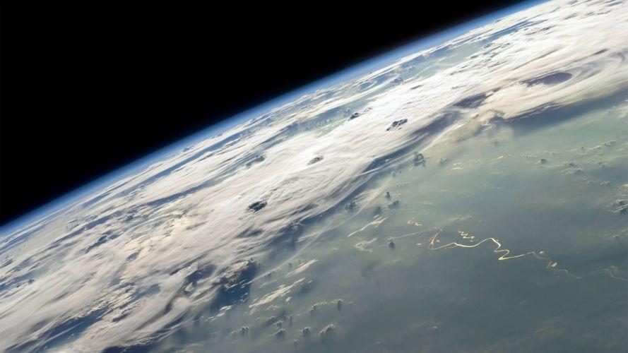 planeta tierra espacio naturaleza wallpaper