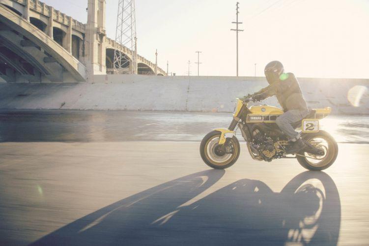 2016 Yamaha 900 Faster motorcycles modified wallpaper