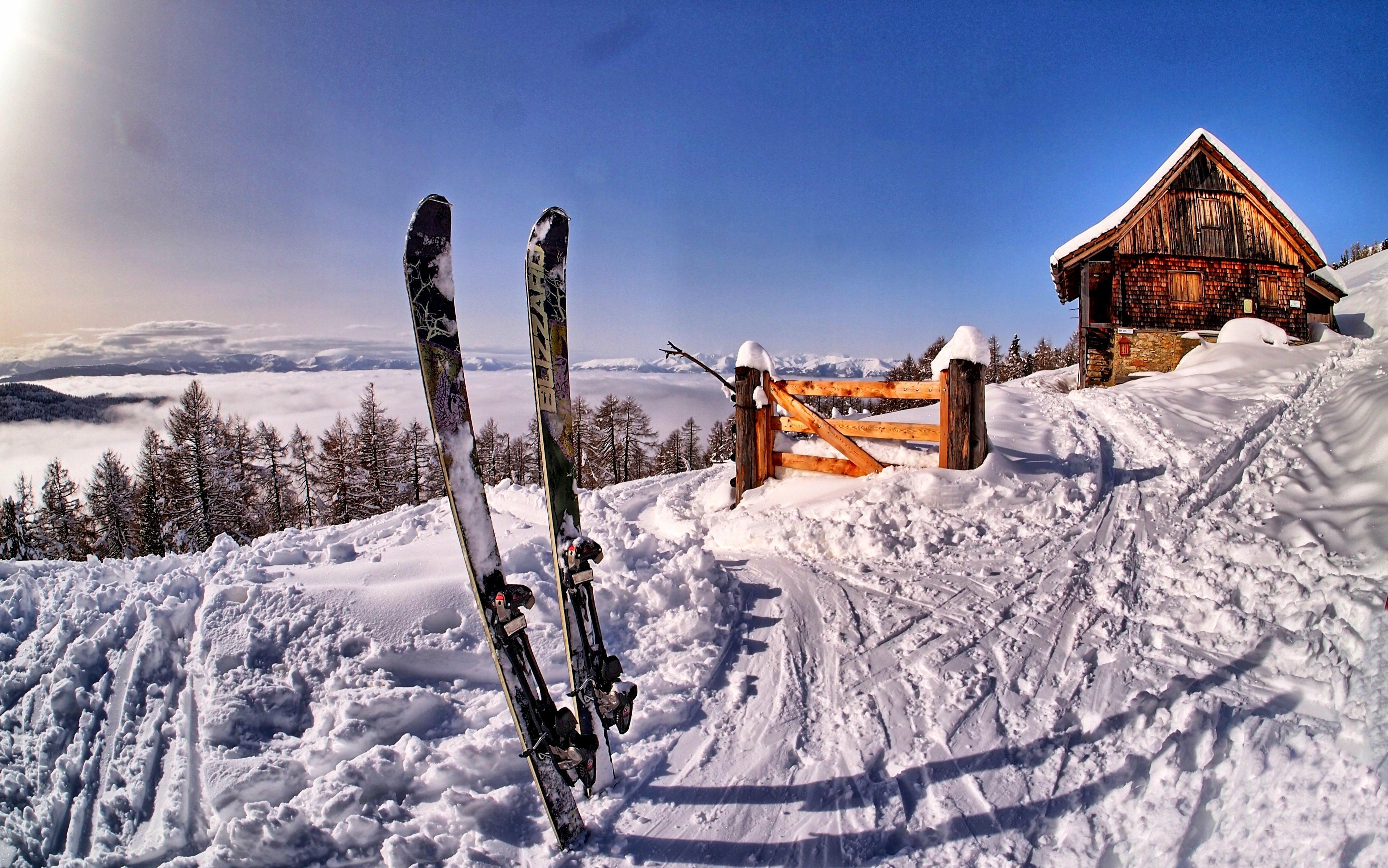 santa sky snow wallpaper - photo #30