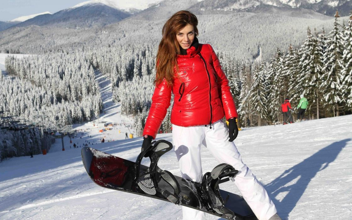 Winter snow landscape nature girl sexy babe snowboarding snowboard winter snow landscape nature girl sexy babe snowboarding snowboard wallpaper voltagebd Image collections