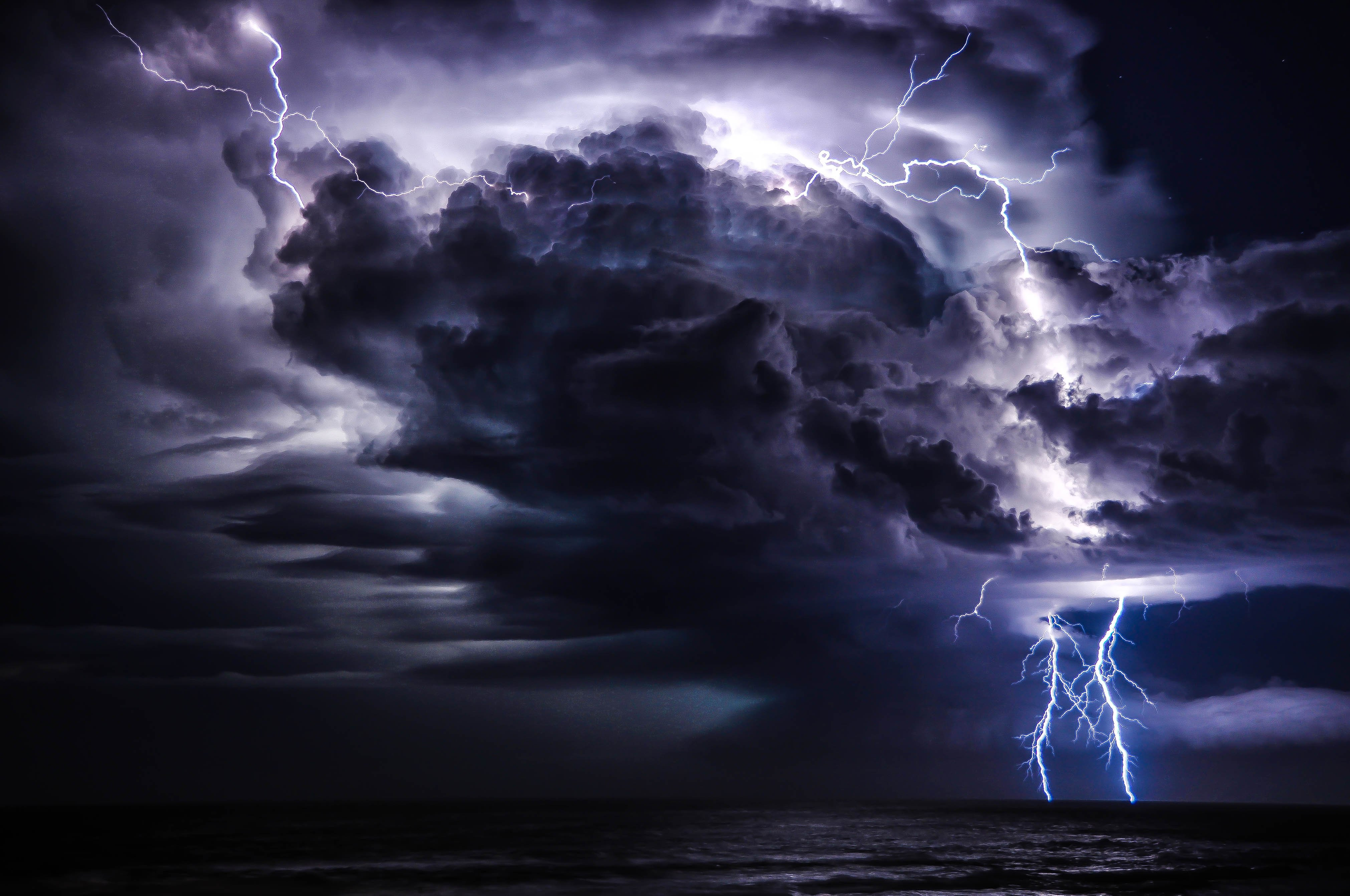 STORM weather rain sky clouds nature lightning wallpaper ...