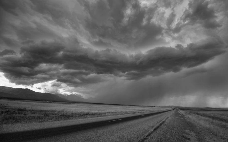 STORM weather rain sky clouds nature wallpaper