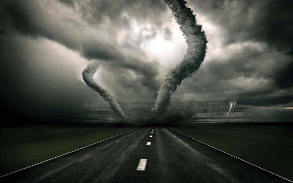 STORM weather rain sky clouds nature tornado twister wallpaper