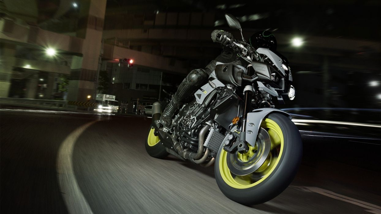 2016 Yamaha MT-10 Ray of Darkness motorcycles wallpaper