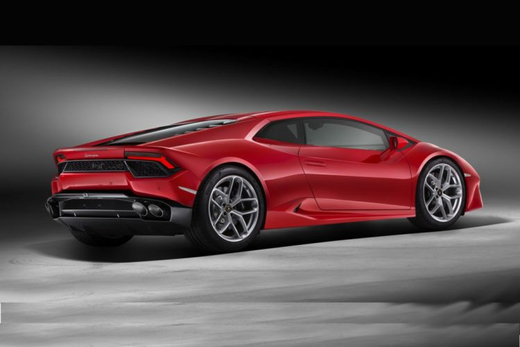 Lamborghini Huracan LP580-2 cars supercars red 2016 wallpaper